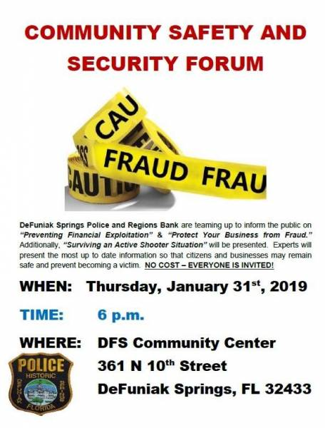 Community Safety and Security Forum