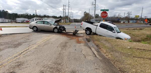 2:45 PM..Motor Vehicle Accident at the Circle at West Carroll