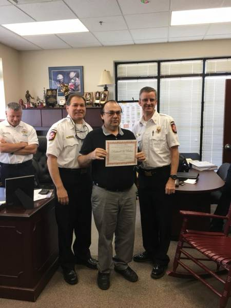 Congratulations to the Three Dothan Firefighters that Recieved Awards
