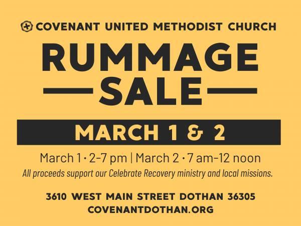Rummage Sale TODAY
