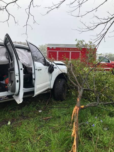 Slocomb Fire Rescue Responds To Single Vehicle Accident