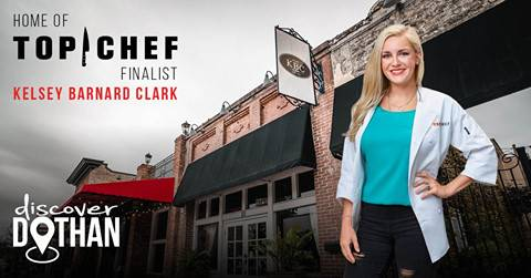 Gather on North Foster Street to watch the Top Chef: Kentucky finale and cheer for our hometown hero!