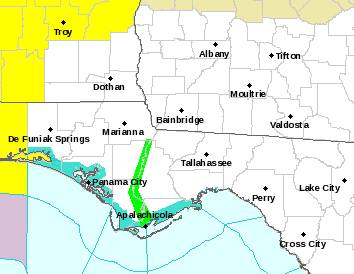UPDATED at 11:24 AM... Most Of South Alabama under a Tornado Watch until 7:00PM