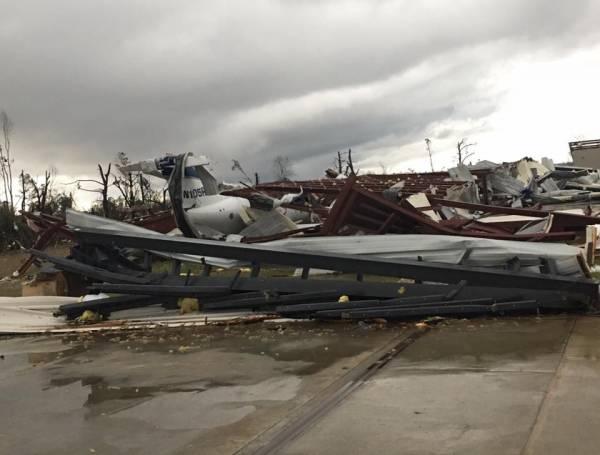 Eufaula Police Post Photos of Storm Damage