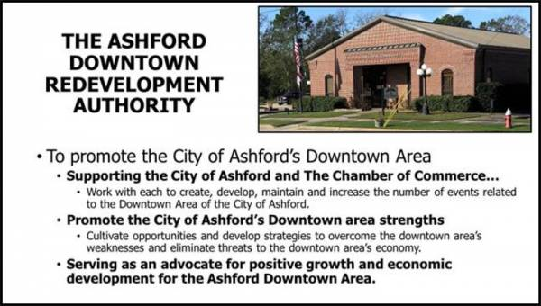 Ashford Downtown Redevelopment Authority Received a Grant
