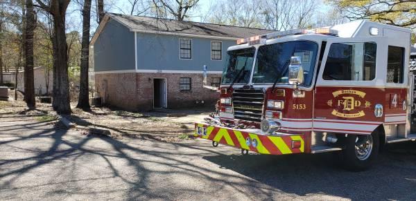11:56 AM... Dryer Fire at Abby Oaks