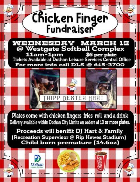 Chicken Finger Fundraiser