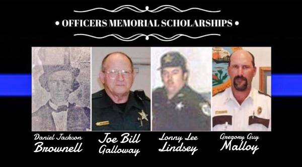 Applications Available for Officer Memorial Scholarships