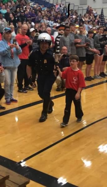 Dale County Sheriff participated in the 2019 Special Olympics Torch Run