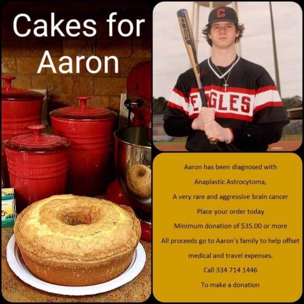 "To Everyone Who Helped Make..CAKES FOR AARON..A  Huge Success ..."" PRIDE IS THE COMMUNITY COMING TOGETHER AND SHOWING THAT LOVE IS REAL"""