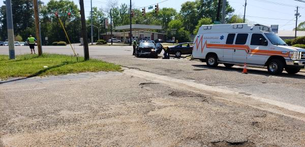 2:08 PM...Motor Vehicle Accident at North Parkand Montgomery Hwy