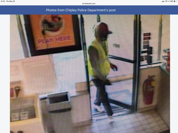 UPDATED @ 9:21 PM.  8:31 PM.   Chipley Fl Marathon Station Victim Of A Robbery