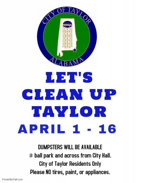 Clean up Taylor Set for Tomorrow