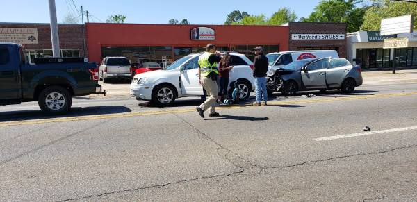 11:10 AM.. Motor Vehicle Accident at West Main at Edgewood