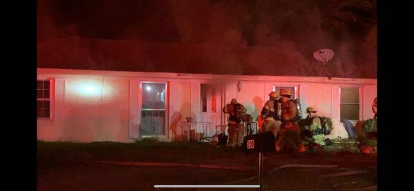UPDATED at 11:30 PM.  Structure Fire On Rebecca Avenue