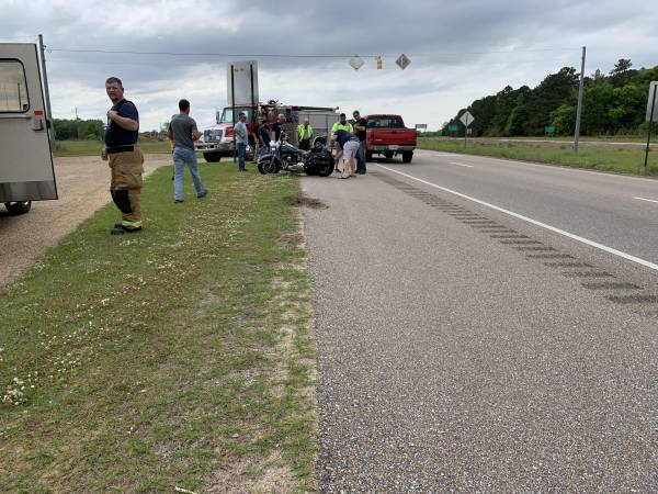 Sunday Motorcycle Accident Highway 123 and Highway 84 West