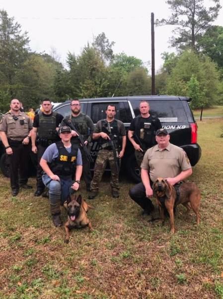 Combined Efforts In Dale County In Saturday's Manhunt