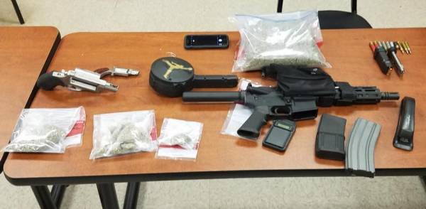 Search of Home Leads to Seizure of Guns and Drugs