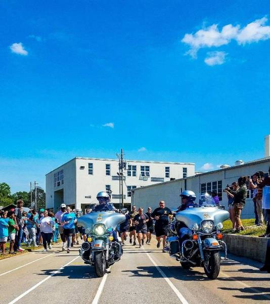 ALEA - State Troopers Join Dothan Police and Dothan Fire For Special Olympics