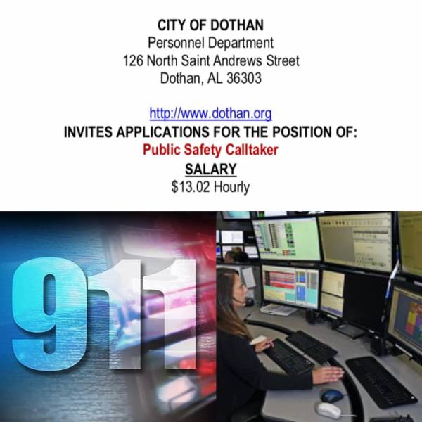Dothan Police Department Communications Center needs your help
