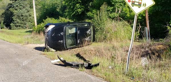 8:25 AM...  Vehicle Rollover on US 84 Near Dupree Street